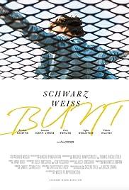 Schwarz Weiss Bunt Poster