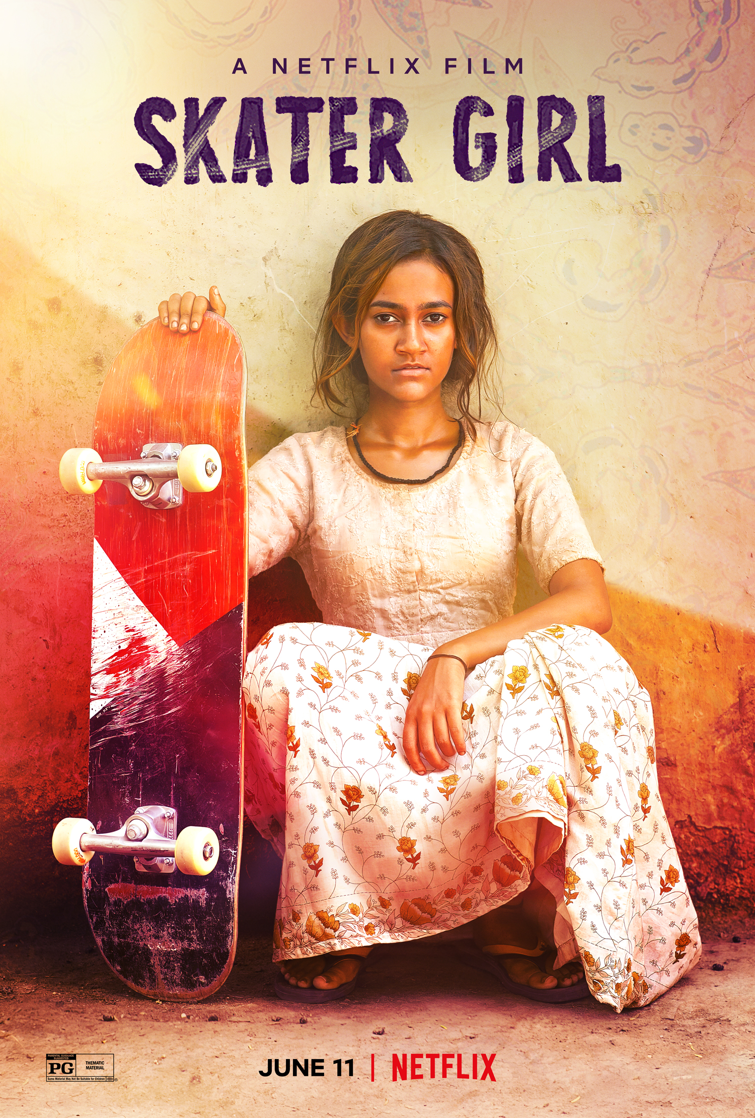 Skater Girl (2021) ORG Hindi Dual Audio 480p NF HDRip ESubs 350MB Download