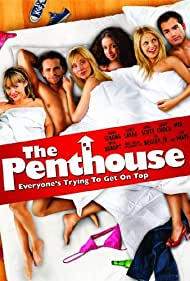 Kaley Cuoco, Mya, Rider Strong, Corey Large, Nikki Griffin, and April Scott in The Penthouse (2010)