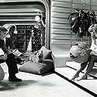 Kirk Douglas and Farrah Fawcett at an event for Saturn 3 (1980)