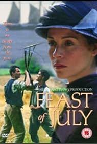 Ben Chaplin and Embeth Davidtz in Feast of July (1995)