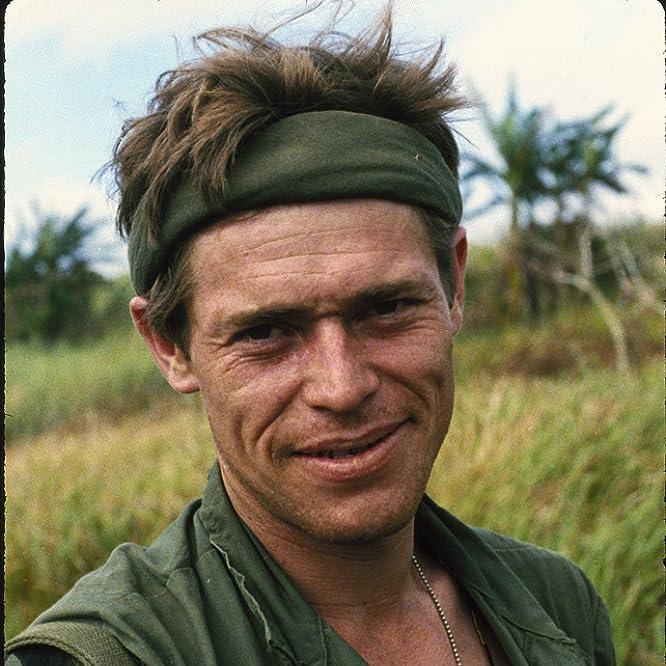 Willem Dafoe in Platoon (1986)