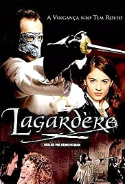 The masked avenger: Lagardère Poster