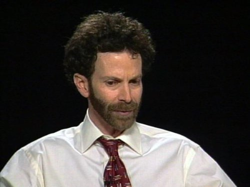 Charlie Kaufman in Charlie Rose (1991)