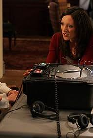 Lola Glaudini and Elisabeth Harnois in Criminal Minds (2005)