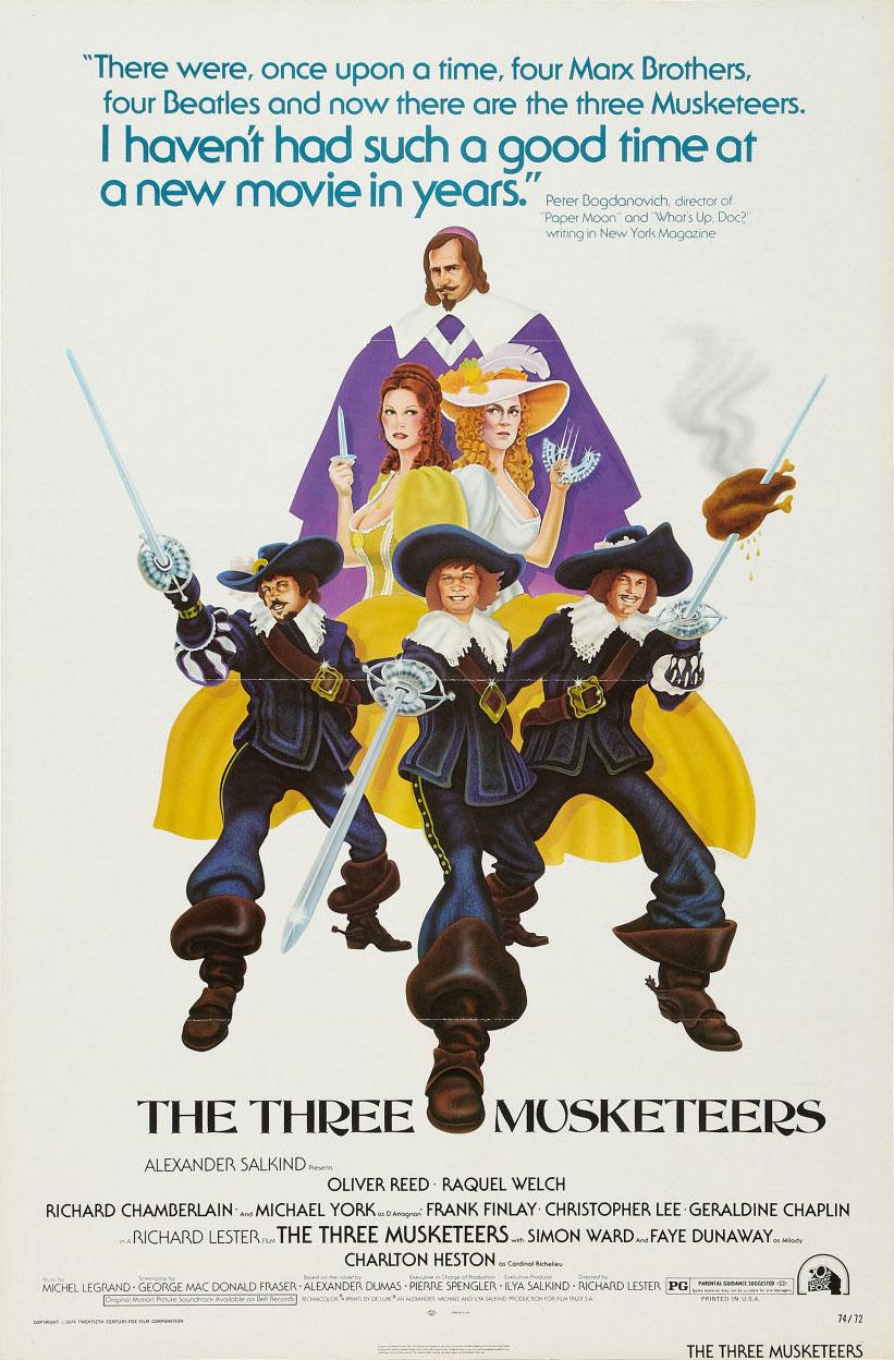 The Three Musketeers (1973) - IMDb