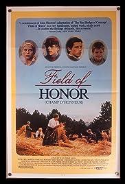 Champ d'honneur Poster