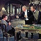 Maurice Chevalier, John Abbott, and Louis Jourdan in Gigi (1958)