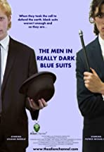 The Men in Really Dark Blue Suits