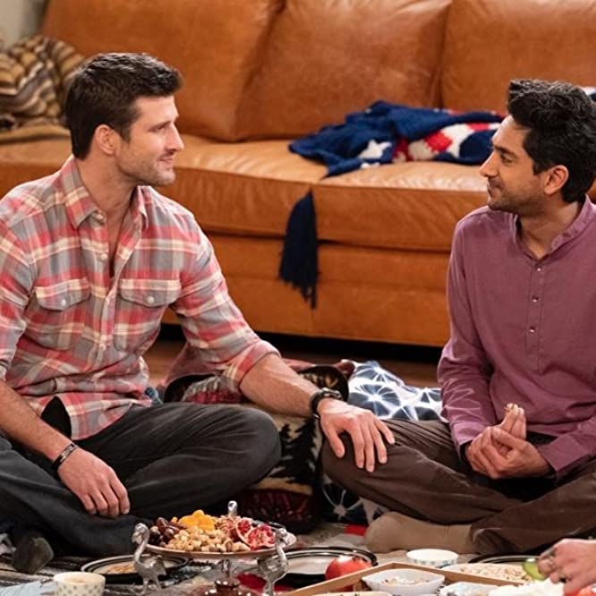 Adhir Kalyan and Parker Young in United States of Al (2021)