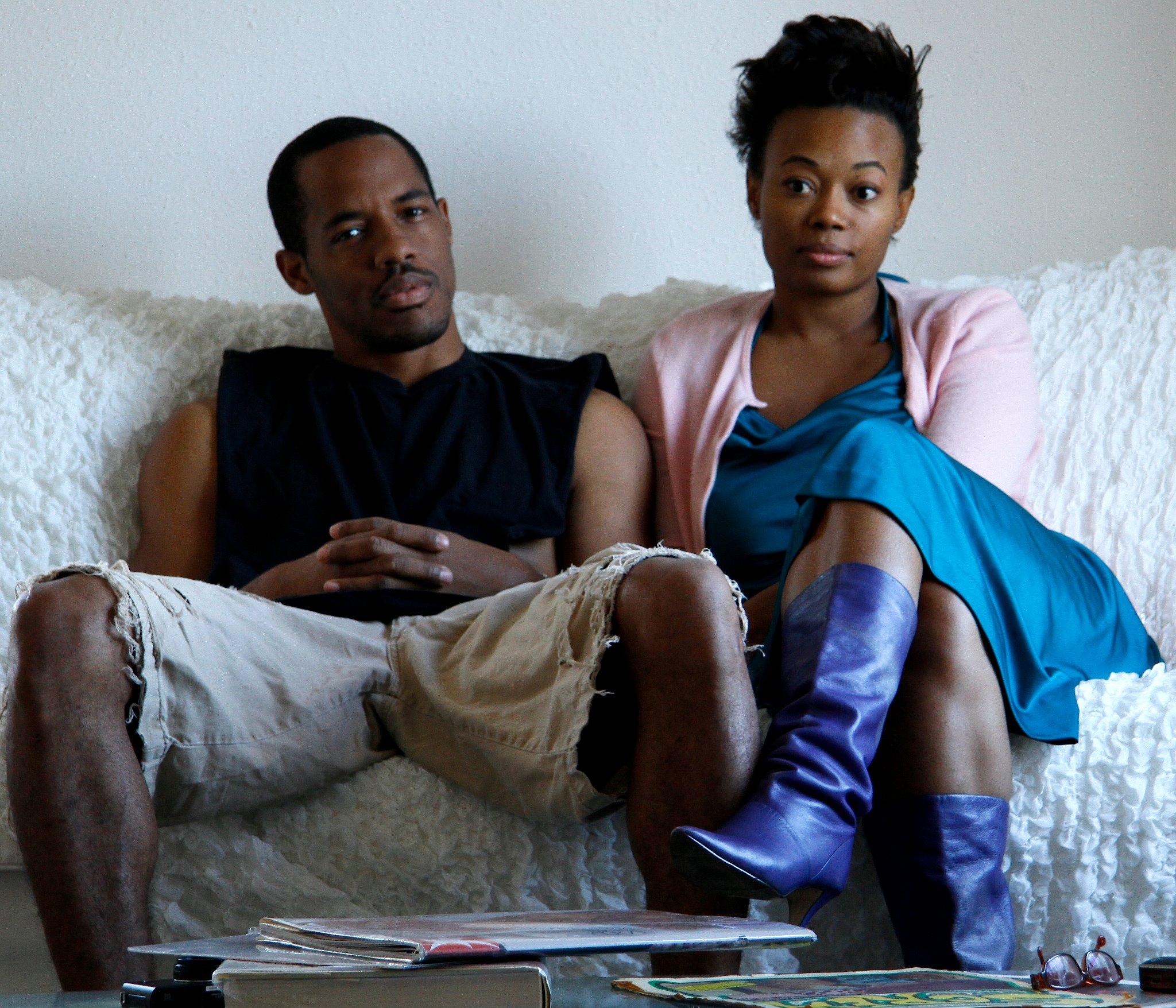 Numa Perrier and Desmond Faison in The Couple (2011)