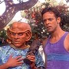 Armin Shimerman and Alexander Siddig in Star Trek: Deep Space Nine (1993)