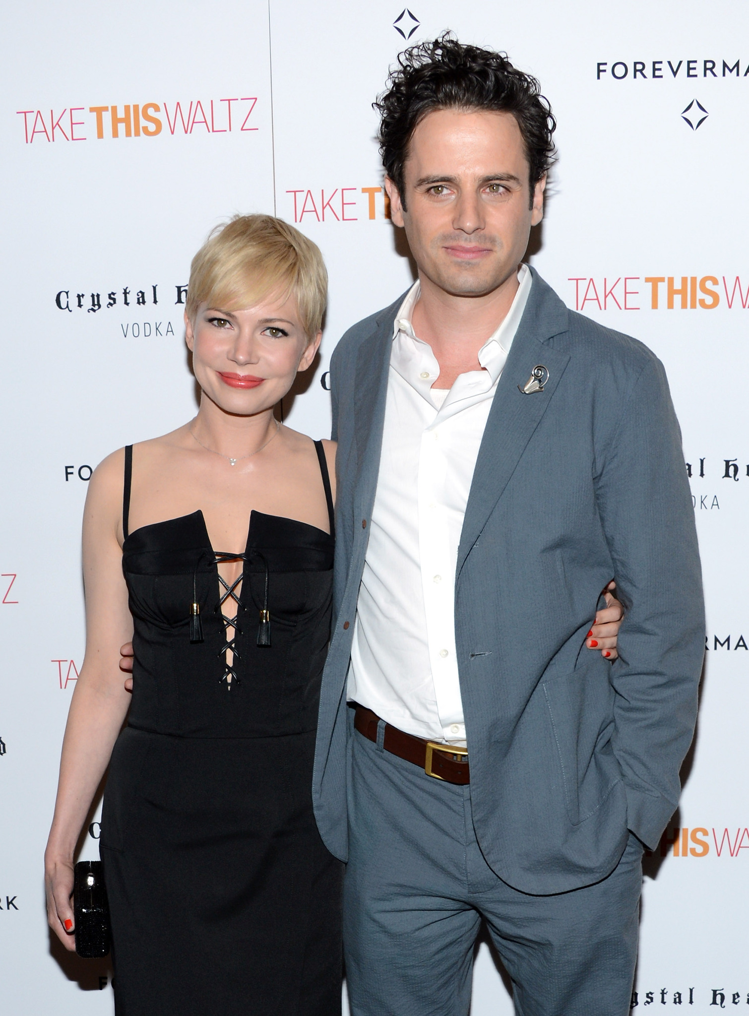 Luke Kirby and Michelle Williams at an event for Take This Waltz (2011)