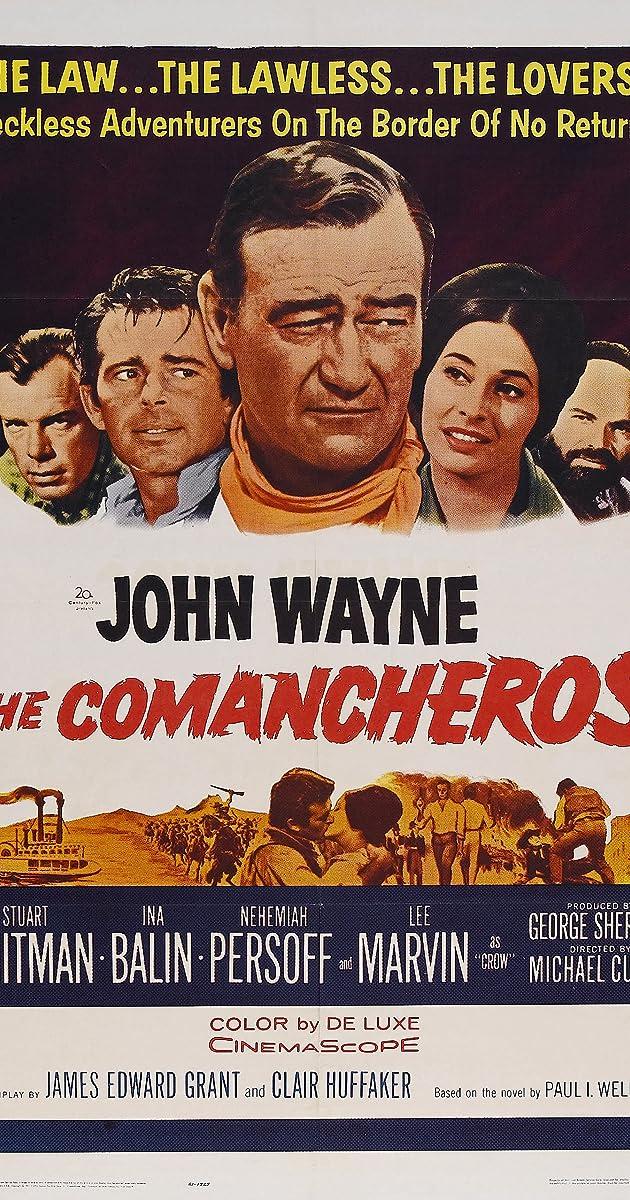 Subtitle of The Comancheros