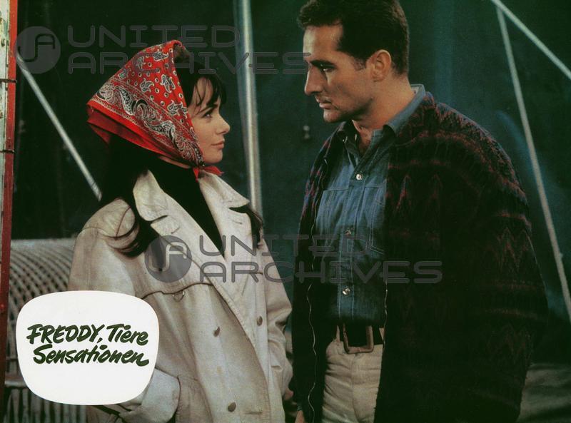Freddy Quinn and Marisa Solinas in Freddy, Tiere, Sensationen (1964)