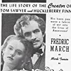 Fredric March and Alexis Smith in The Adventures of Mark Twain (1944)