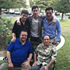 Paul Sorvino, David Proval, Emilio Roso, Robert Scott Wilson, and Dan Israely in Papa (2018)