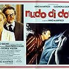 Eleonora Giorgi and Nino Manfredi in Nudo di donna (1981)