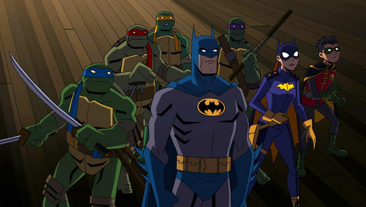 Batman vs. Teenage Mutant Ninja Turtles (2019) Online Subtitrat in Romana