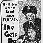 Joan Davis and Leon Errol in She Gets Her Man (1945)