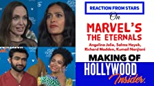 Reacción de las estrellas en The Eternals de Marvel