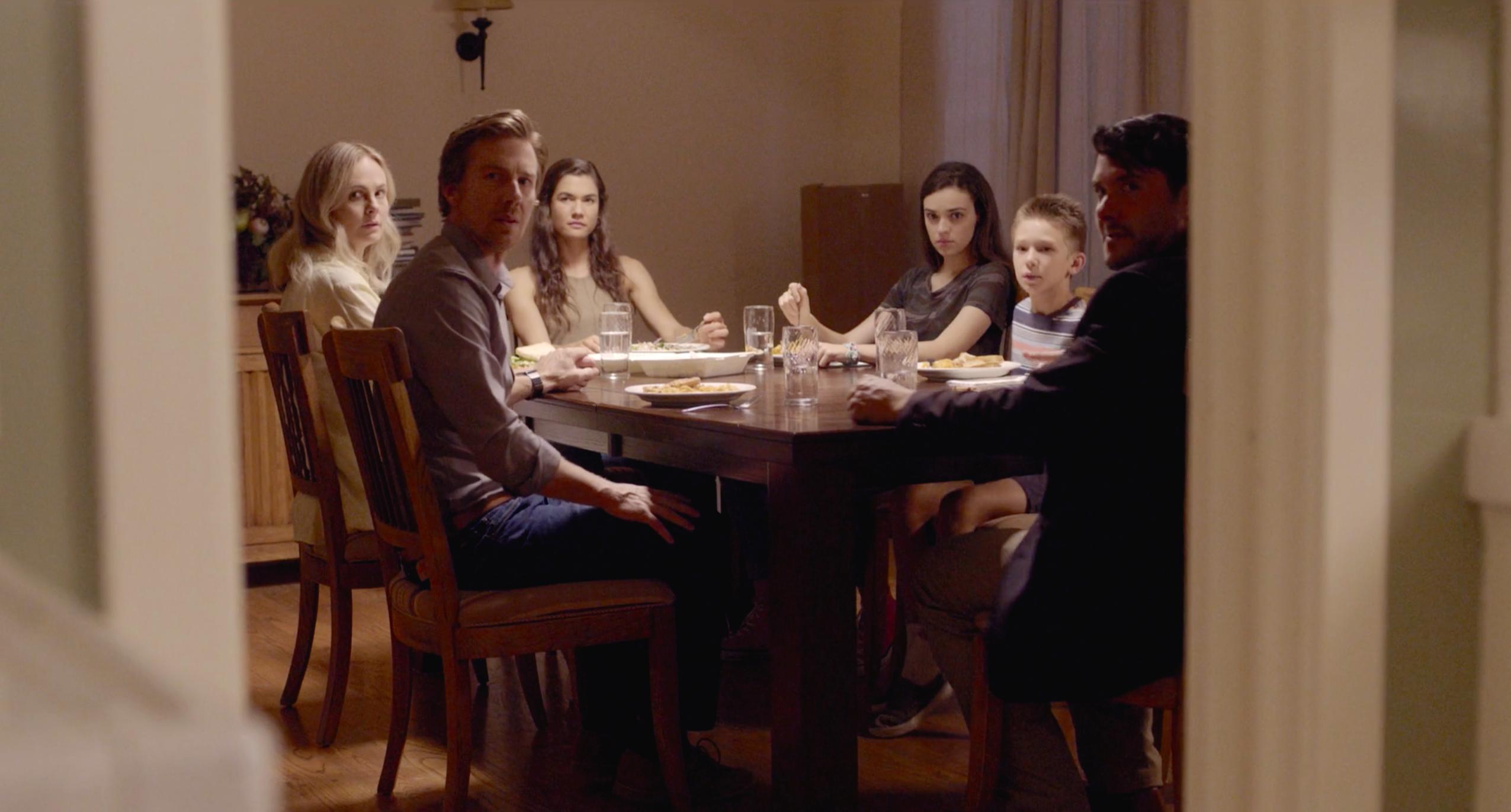 Annie Little, John Antonini, Teri Reeves, Michael Milford, Ava Capri, and Anderson Piller in Little Rituals