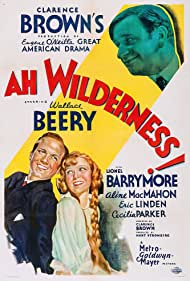 Wallace Beery, Eric Linden, and Cecilia Parker in Ah, Wilderness! (1935)