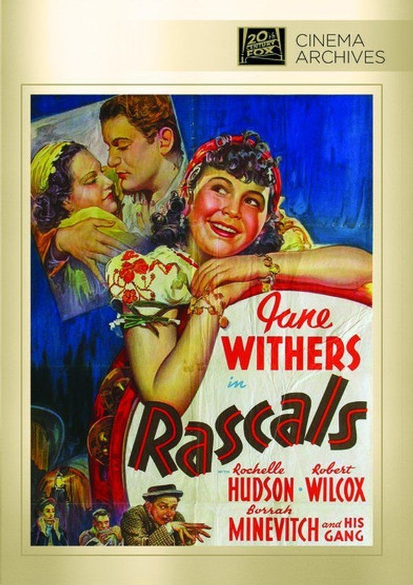 Rochelle Hudson, Borrah Minevitch, Robert Wilcox, and Jane Withers in Rascals (1938)