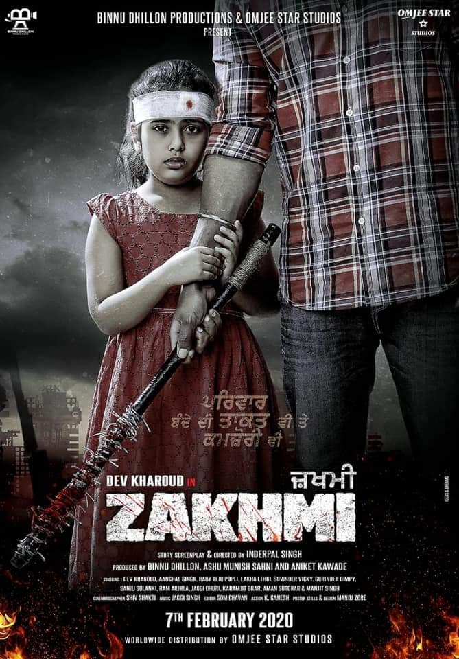 Zakhmi (2020) Punjabi 350MB HDTVRip 480p