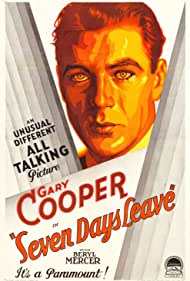 Gary Cooper in Seven Days Leave (1930)