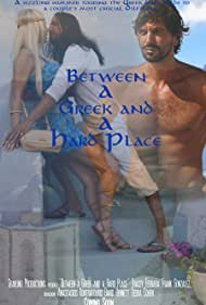 Tasos Kontrafouris, Tracey Ferrara, and Frank Gonzalez in Between a Greek and a Hard Place