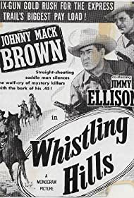 Johnny Mack Brown and James Ellison in Whistling Hills (1951)