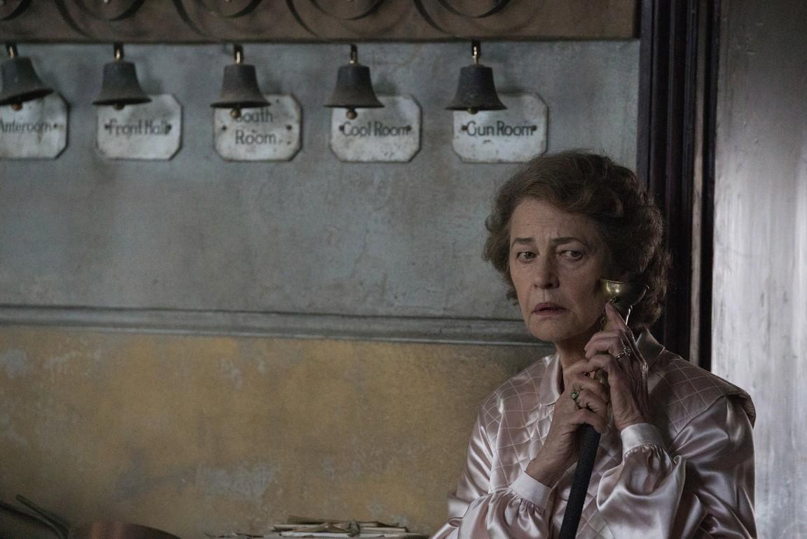 Charlotte Rampling in The Little Stranger (2018)