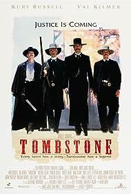 Val Kilmer, Bill Paxton, Sam Elliott, and Kurt Russell in Tombstone (1993)