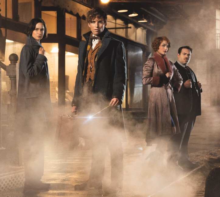 Film Fantastic Beasts and Where to Find Them (2016).