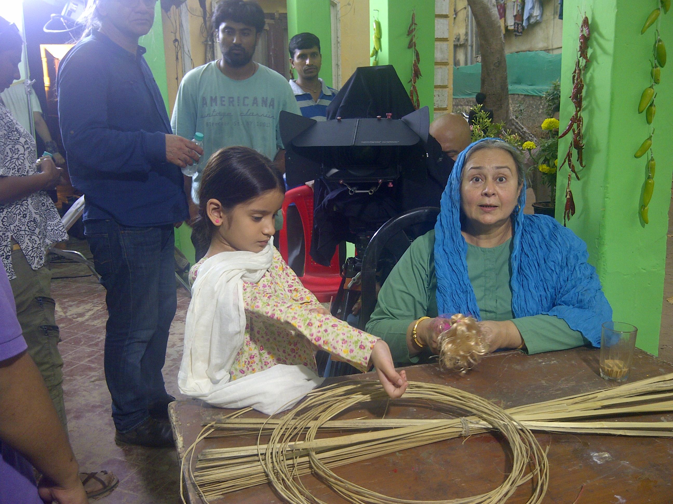Jagruti Sethia and Farida Dadi in Khorshid (2016)