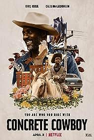 Idris Elba and Caleb McLaughlin in Concrete Cowboy (2020)