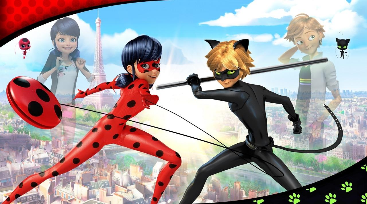 Ladybug und cat noir nackt