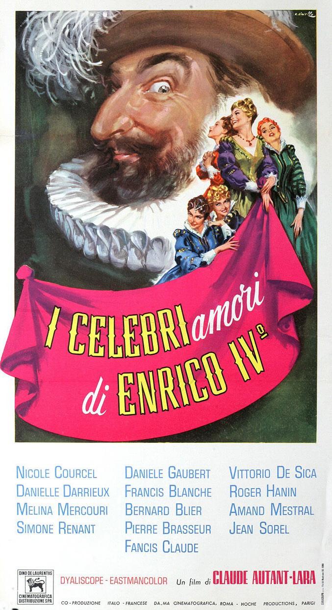 Vive Henri IV... vive l'amour! (1961)