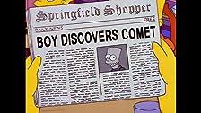 Bart's Comet