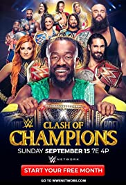 WWE: Clash of Champions Poster