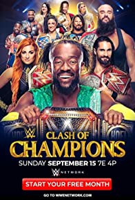 Primary photo for WWE: Clash of Champions