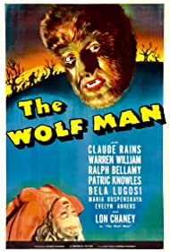 Lon Chaney Jr. and Evelyn Ankers in The Wolf Man (1941)