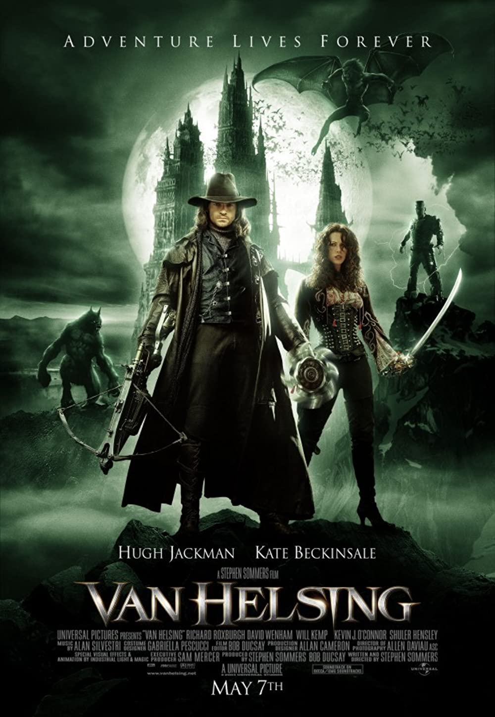 Van Helsing 2004 Hindi Dual Audio 1080p BluRay ESubs 2GB Download
