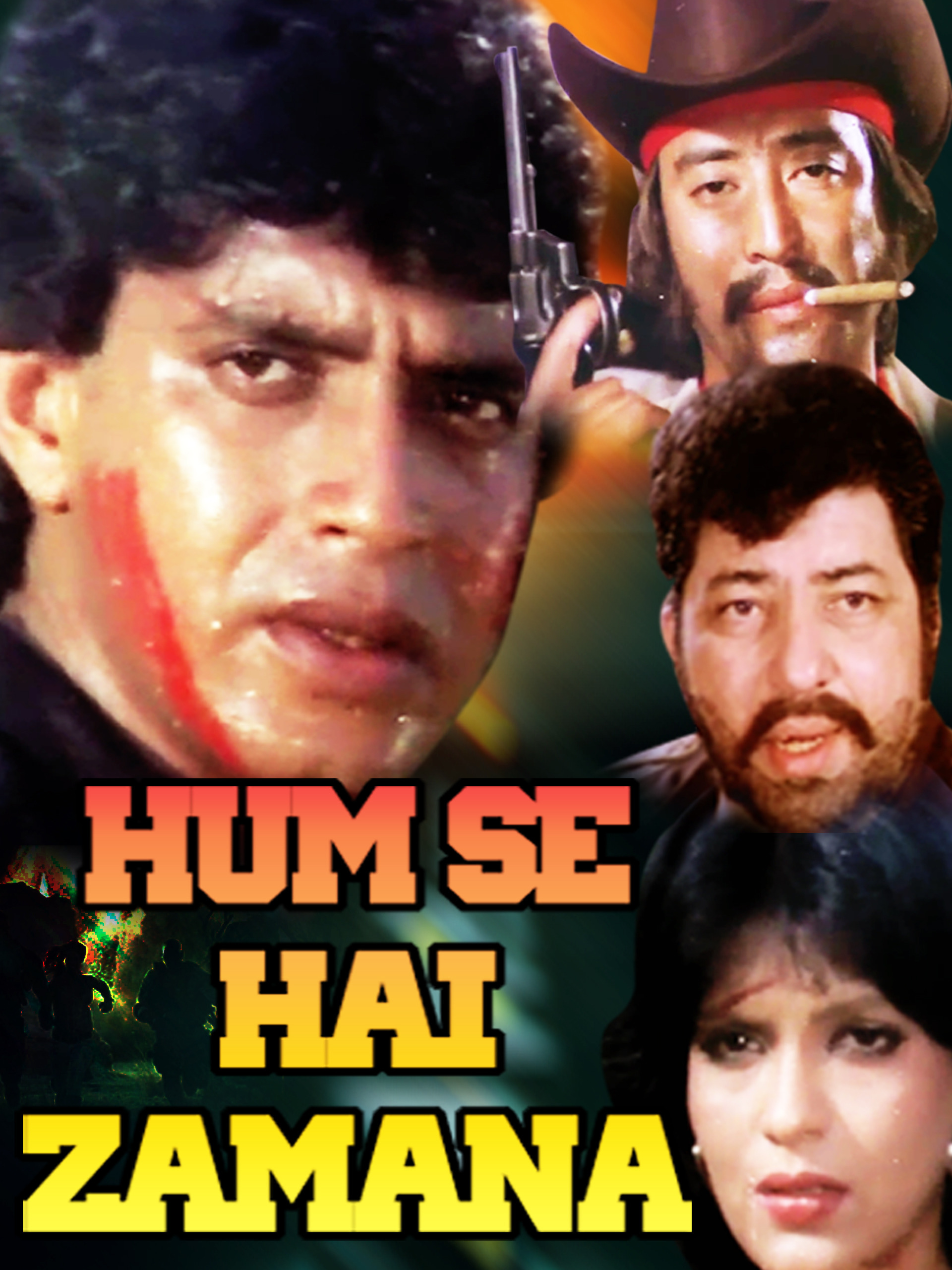 Hum Se Hai Zamana (1983) Hindi Movie 720p HDRip 1.1GB Download
