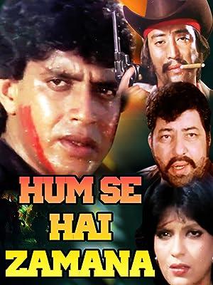 Zeenat Aman Hum Se Hai Zamana Movie