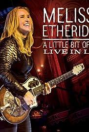 Melissa Etheridge This Is M.E Live in LA Poster