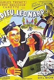 Adieu Léonard Poster