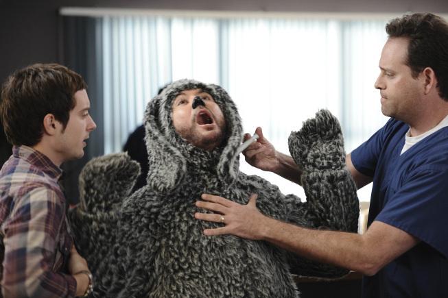 Elijah Wood, Matt Kaminsky, and Jason Gann in Wilfred (2011)