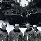 """James Garner, Tommy Lee Jones, Clint Eastwood, and Donald Sutherland star in """"Space Cowboys"""""""